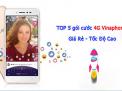 """Top 5 gói cước 4G Vinaphone dành cho các """"thánh livestream"""""""