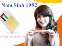 Chọn mua những số Sim năm sinh 1992 thật ưng ý